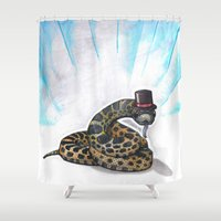 Ssssseriously Shower Curtain