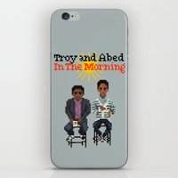 Troy And Abed In The Mor… iPhone & iPod Skin