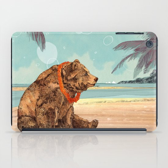 Beach Bear iPad Case