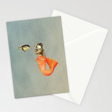 In search of realistic love Stationery Cards