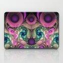 Evening Splendour, fractal abstract iPad Case