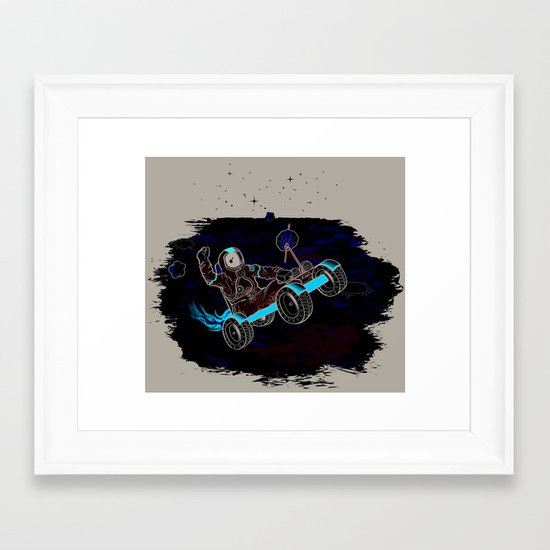Space Dementia Framed Art Print