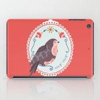 Signorina Pettirosso iPad Case