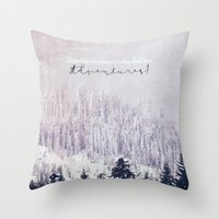 Blessed Are The Curious Throw Pillow