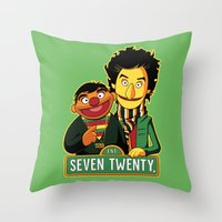 E Is For Entertainment Throw Pillow