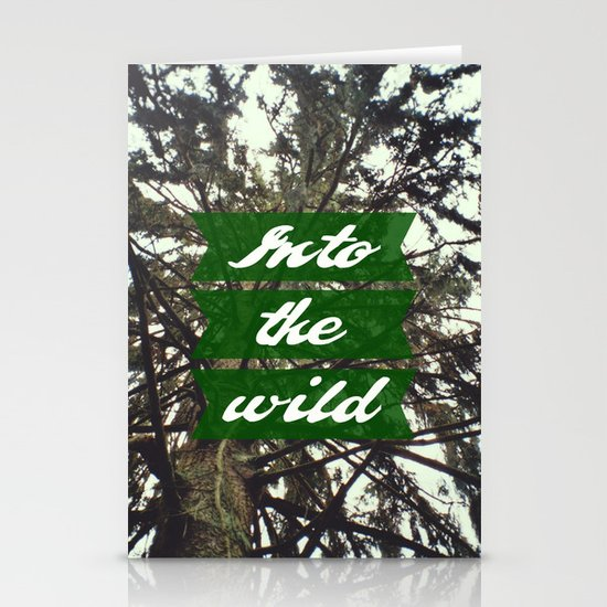 Into the wild Stationery Card