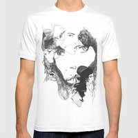 Thoughts of Amy Mens Fitted Tee White SMALL