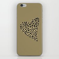 Wild Love III iPhone & iPod Skin