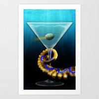 The Briny Deep Art Print