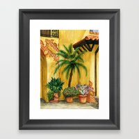 Quiet Corner Framed Art Print