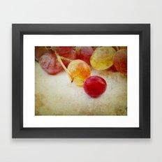 Summer taste Framed Art Print