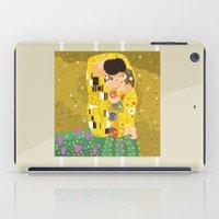 The Kiss (Lovers) by Gustav Klimt  iPad Case