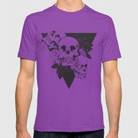 Order of Chaos Mens Fitted Tee Ultraviolet SMALL