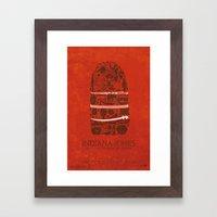 Temple of Doom Poster Framed Art Print