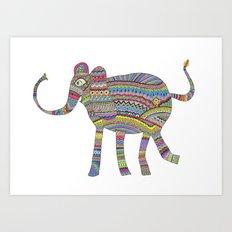 rainbow child Art Print