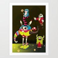 candy Art Prints featuring Candy by Teodoru Badiu