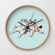 Grumpy Friend Wall Clock