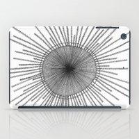 Porpita Porpita I B&W iPad Case
