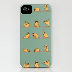 Pug Yoga iPhone (4, 4s) Slim Case