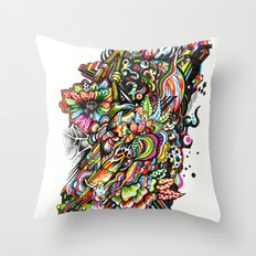 mole01 Throw Pillow