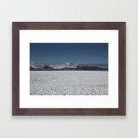 Long Walk  Framed Art Print
