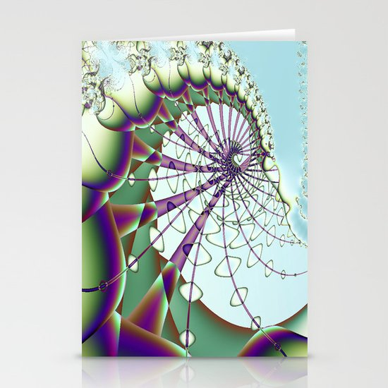 tethered Stationery Card