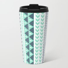 Winter Stripe Travel Mug