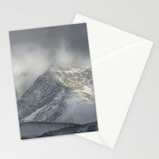 Storm at the mountains Stationery Cards
