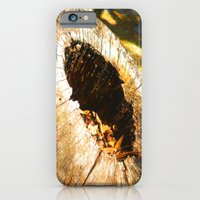 iPhone & iPod Case featuring Fall Graveyard by AMarloweCanPrint