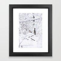 Bonnes Fêtes! Framed Art Print
