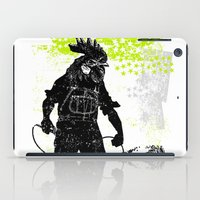 Rooster Man Microphone iPad Case
