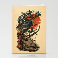 Dominate Stationery Cards