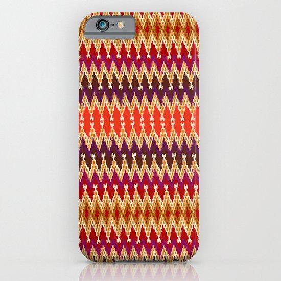 Ikat reindeer iPhone & iPod Case