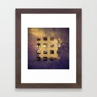 SQUARE AMBIENCE - Magic … Framed Art Print
