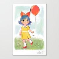 balloon makes a day Canvas Print