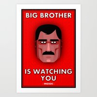 Big Brother #1 Art Print