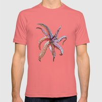 Tentacles Mens Fitted Tee Pomegranate SMALL