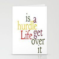 Hurdle 2 Stationery Cards