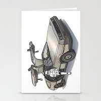 Stormtroooper In A DeLor… Stationery Cards