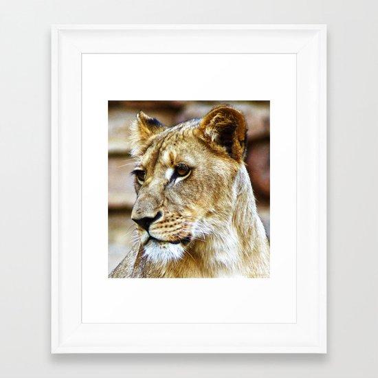 Her Highness Framed Art Print