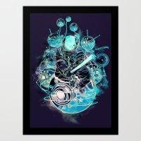 Time Traveler Art Print