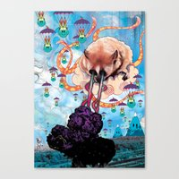 Attack Of The Super Furr… Canvas Print
