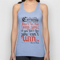 Certainly the game is rigged. Unisex Tank Top
