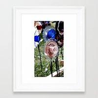 Tea Flower Framed Art Print