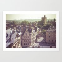 Oxford England Art Print