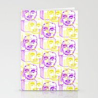 Jack In The Box 2 Tone  Stationery Cards