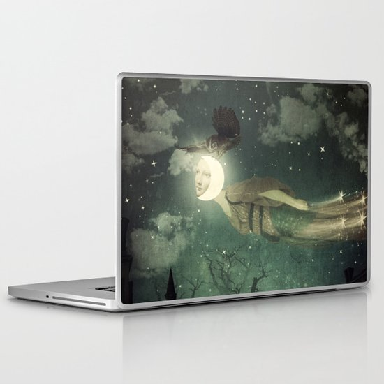 The Owl That Stole the Moon Laptop & iPad Skin