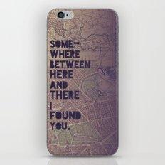 Here & There iPhone & iPod Skin