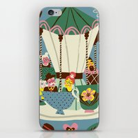 The Coffee Carousel iPhone & iPod Skin
