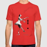 The Tourist  Mens Fitted Tee Red SMALL